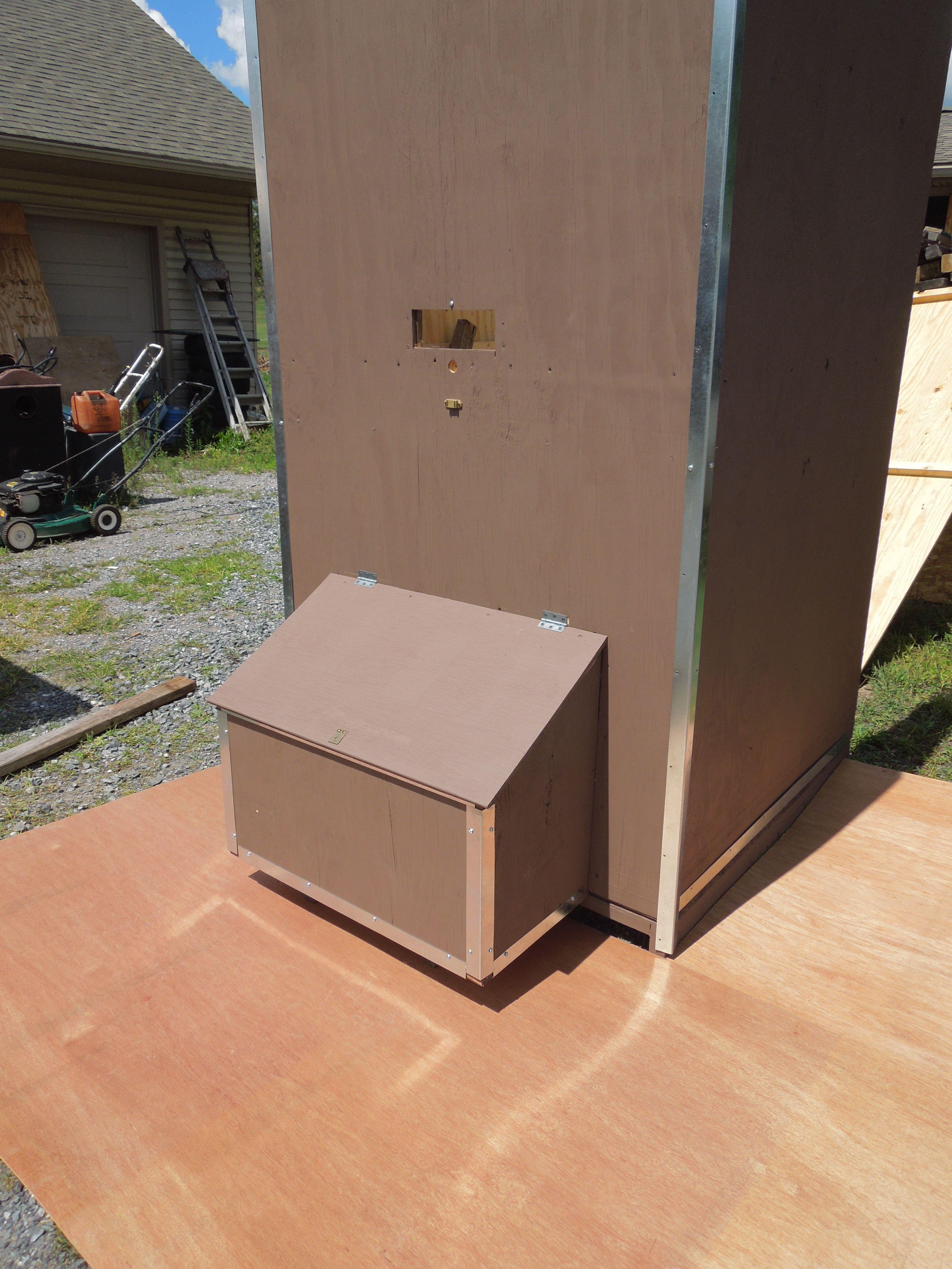 Wood Pellet Storage Bin Plans Free Diy For Pellet Stove Wood Pellets Pellet Wood