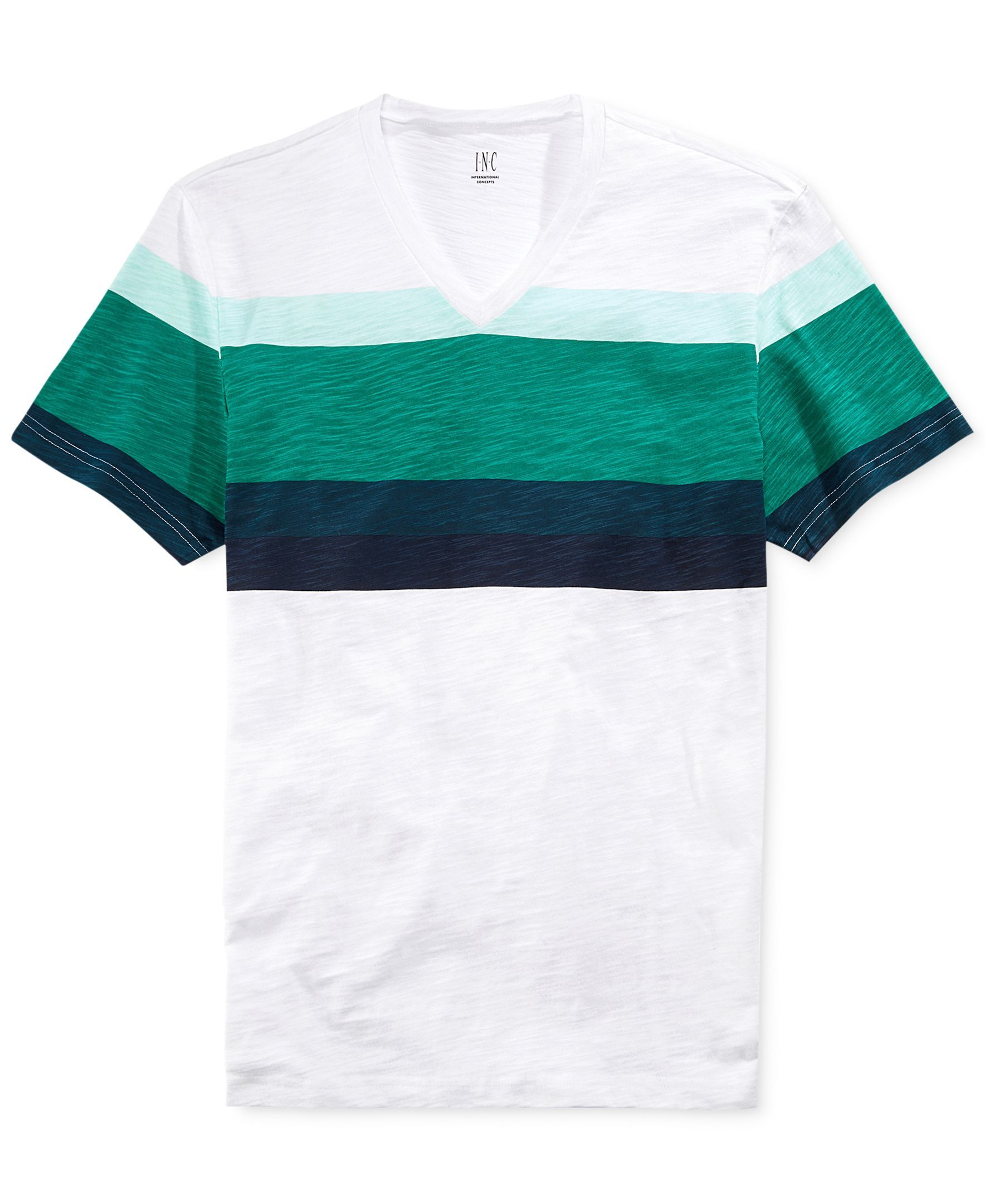 INC International Concepts Pop Stripe T-Shirt