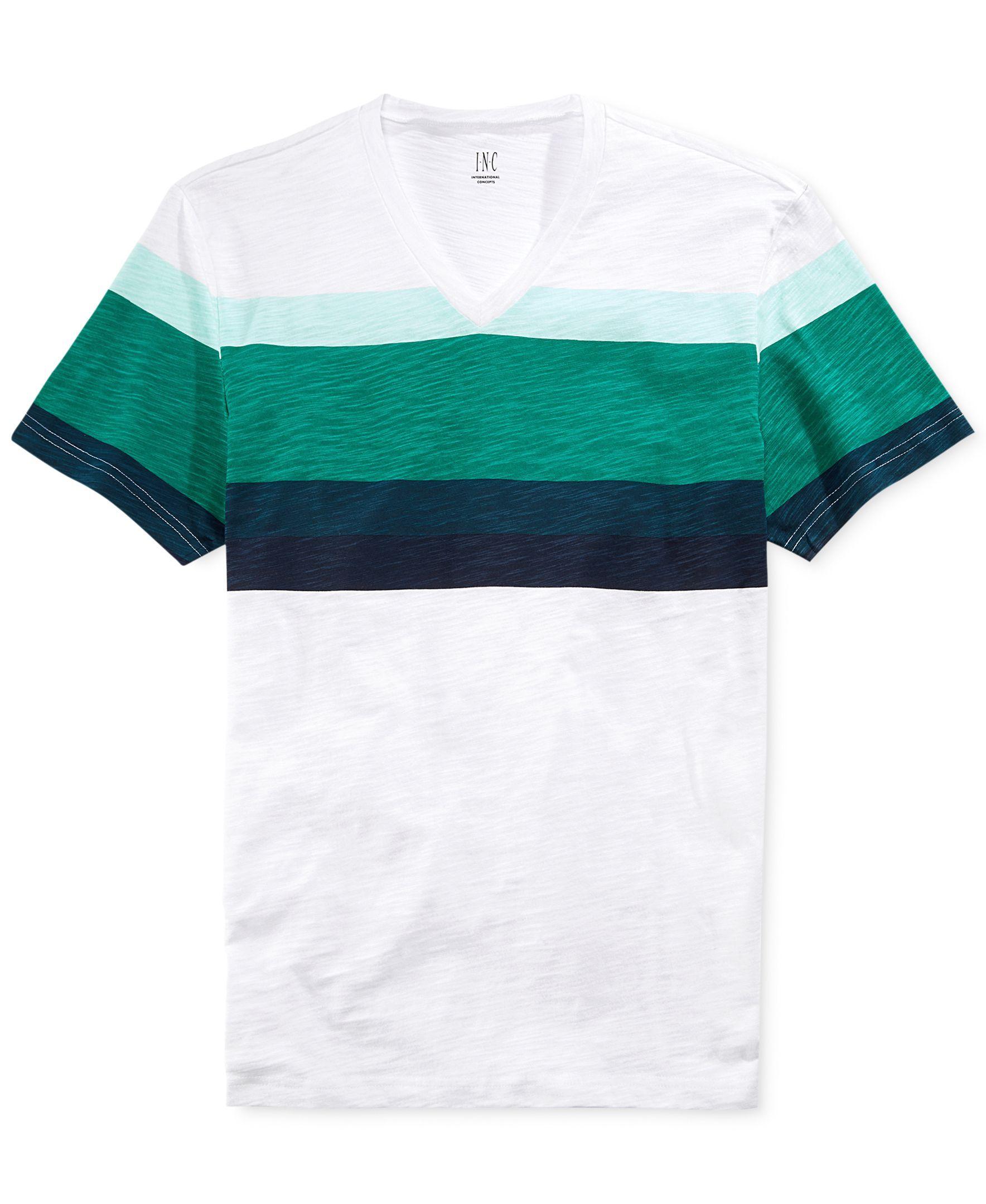 INC International Concepts Pop Stripe T-Shirt