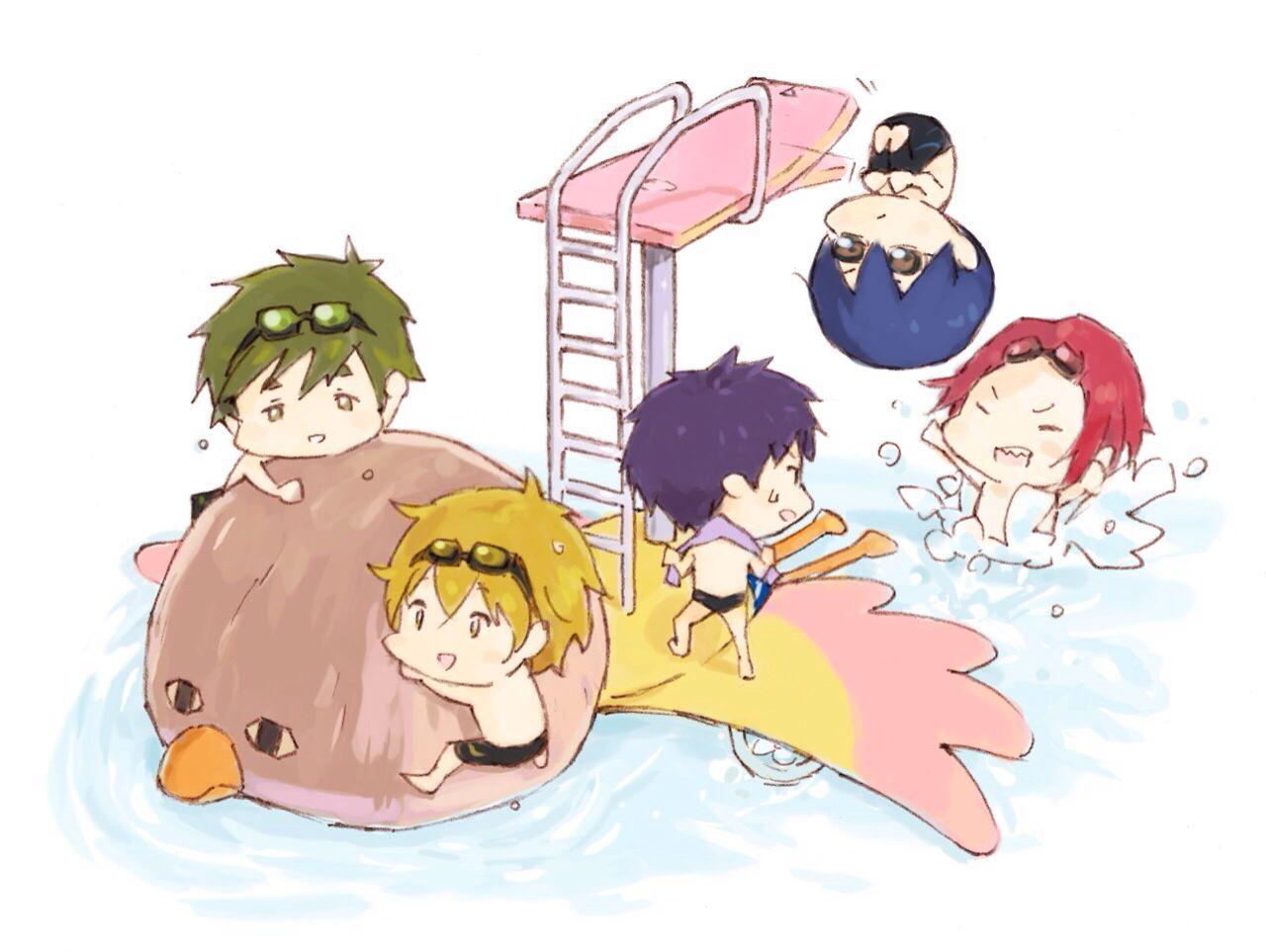 Free Minna San Free Iwatobi Swim Club Free Anime Iwatobi Swim Club