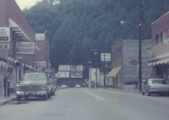 during the 1950s and 60s main street in pineville bustled with cars and people few people. Black Bedroom Furniture Sets. Home Design Ideas