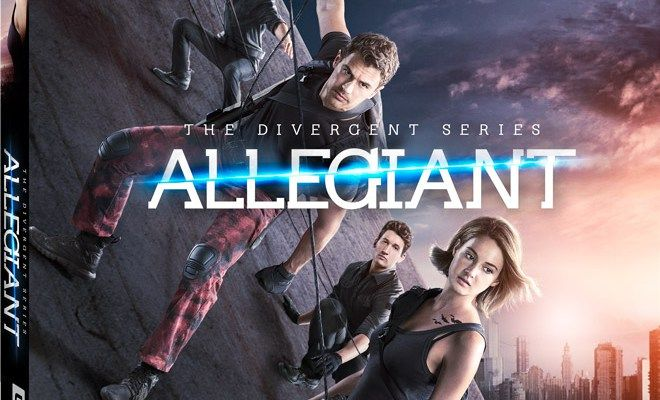On Digital HD Today – The Divergent Series: Allegiant!