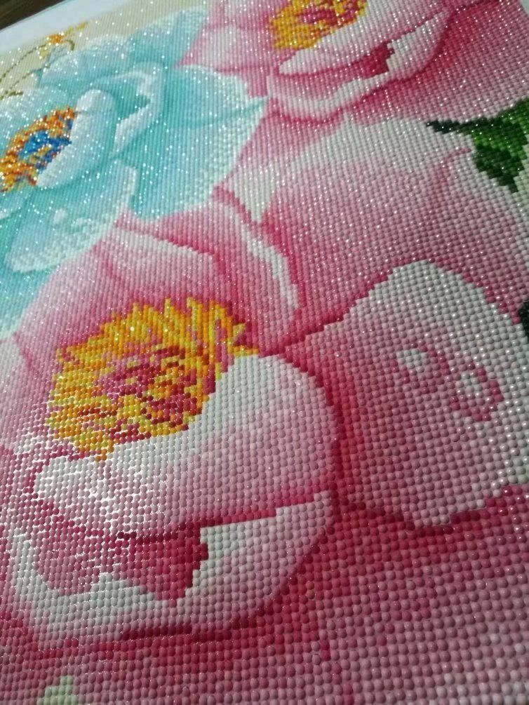 5D Diamond Paint by Number Kits DIY Full Drill Embroidery Cross Stitch Art Craft