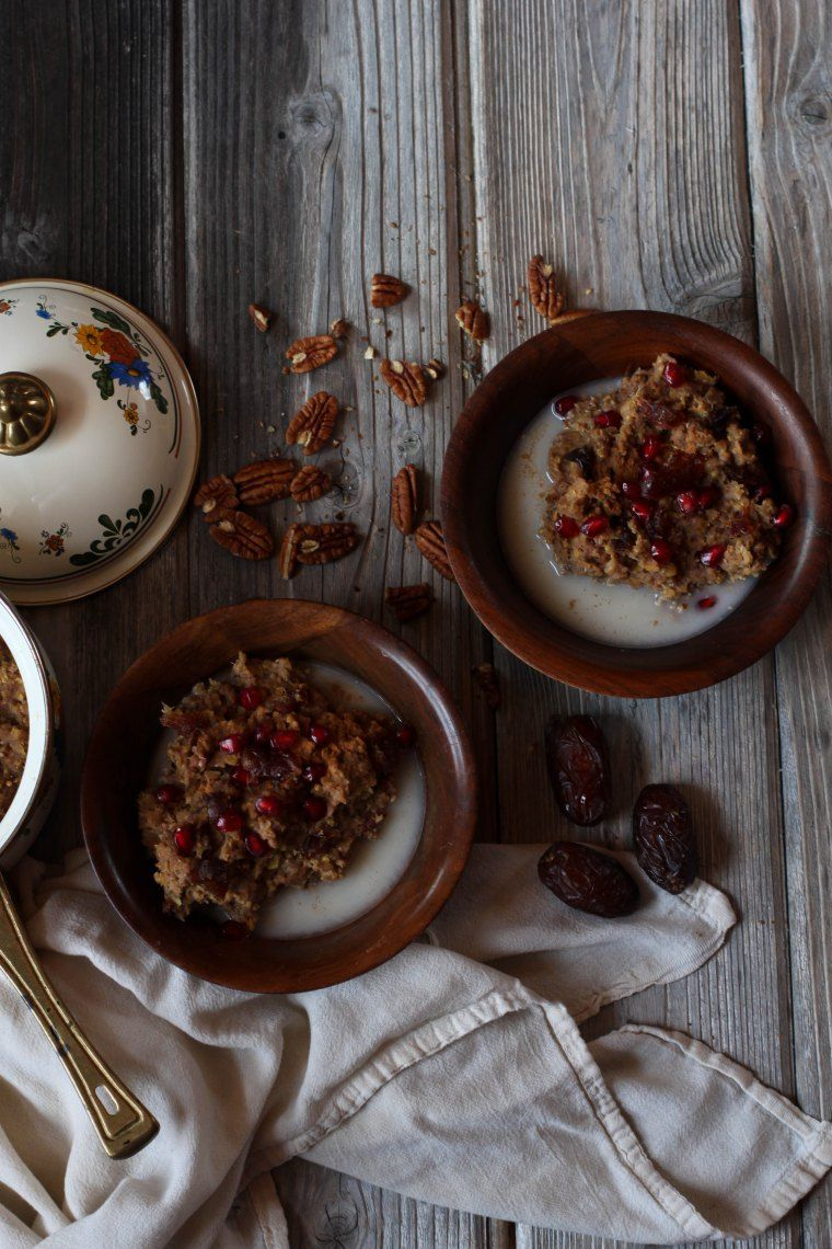 Red lentil porridge