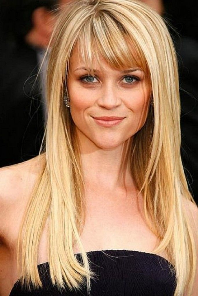 Easy hairstyles for long straight hair with bangs   Love ...
