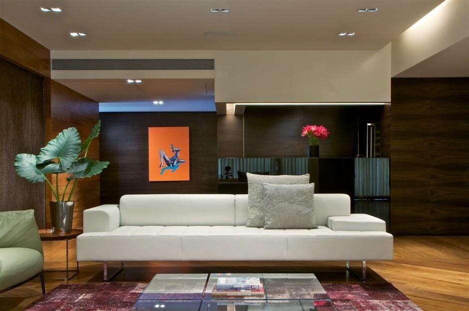 Great Modern Elegant   Mumbai Penthouse By Rajiv Saini Karmatrendz Nice Design