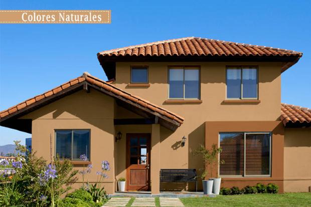 Ideas para pintar las paredes exteriores de la casa for Colores para exteriores de casa