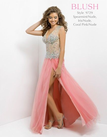 Elegance in jewelled illusion by Blush Prom