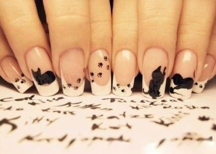 lovely cat nails