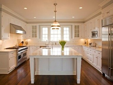 Love This Classic Kitchen By Nantucket Homebuilders And George
