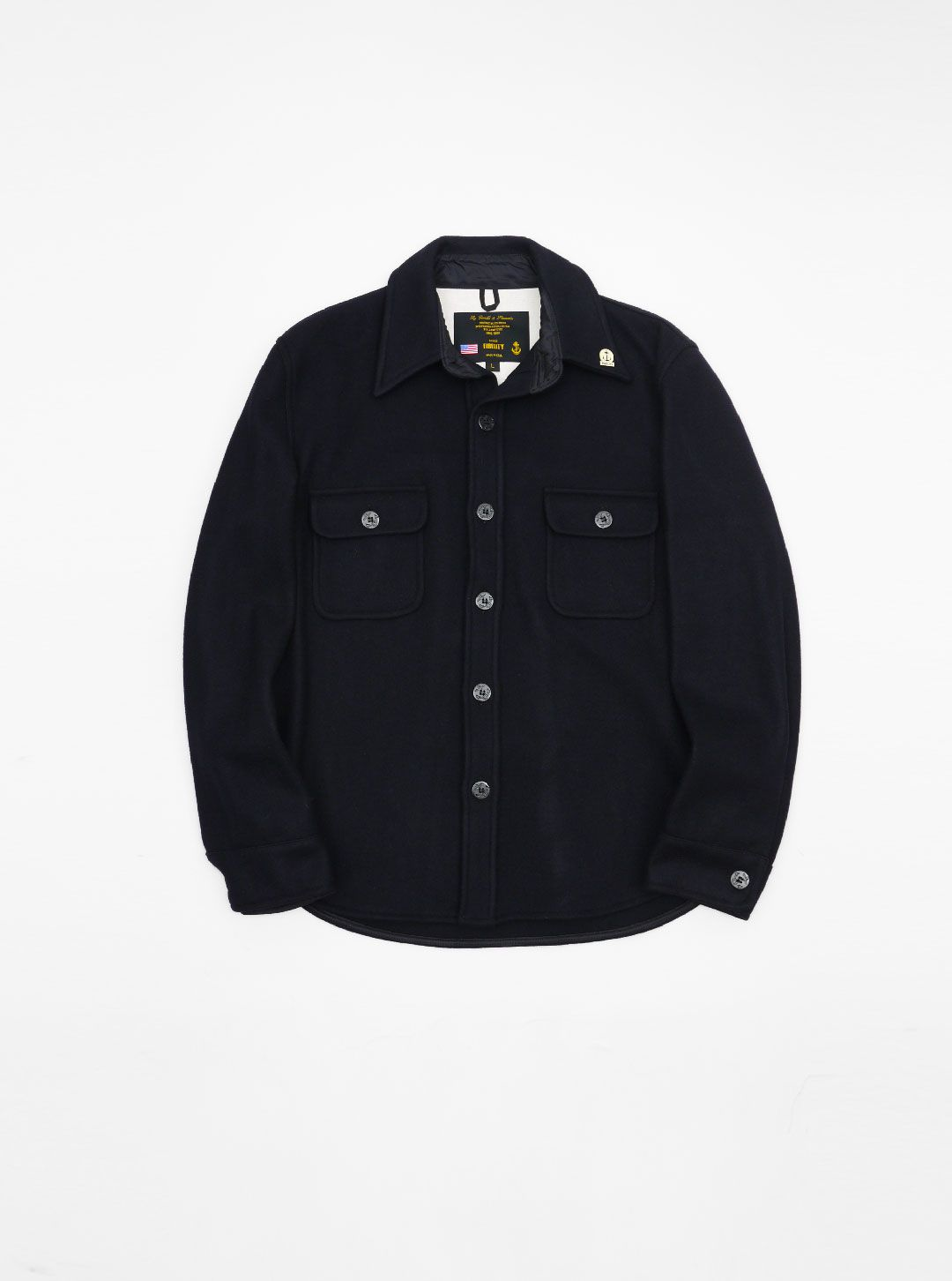 Fidelity CPO Shirt Navy (With images)   Shirts, Jackets ...