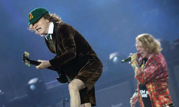 AC/DC perform in Manchester on 9 June 2016    AC/DC. Photograph: Jon Super/Redferns