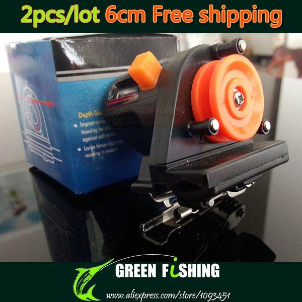 TGSEA 1PC Fishing Tool Fishing Line Depth Finder Counter 0-999M 6cm Fishing Line Tackle Length Gauge Counter