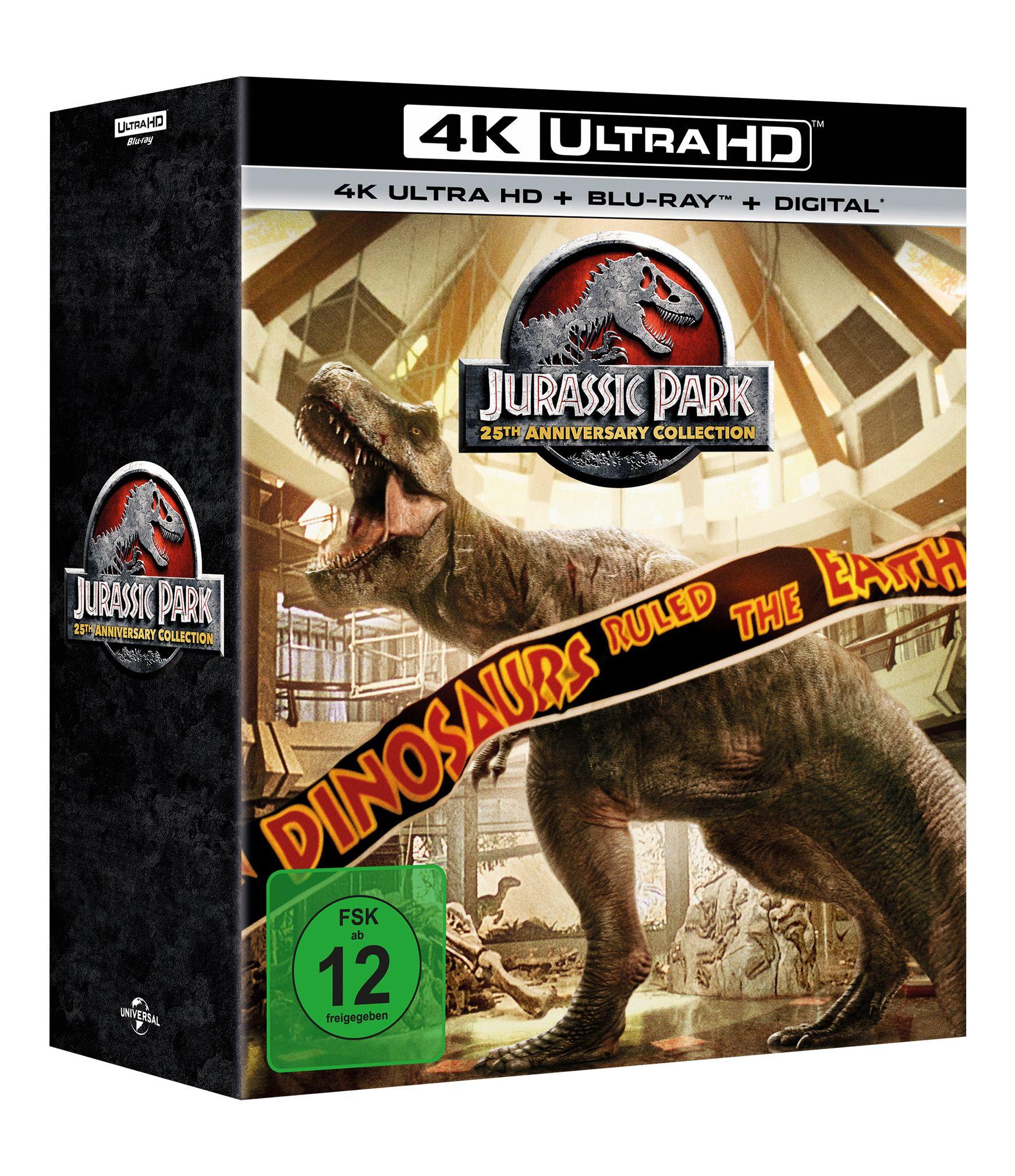 Jurassic Park 14 (Steelbook) (25th Anniversary Edition
