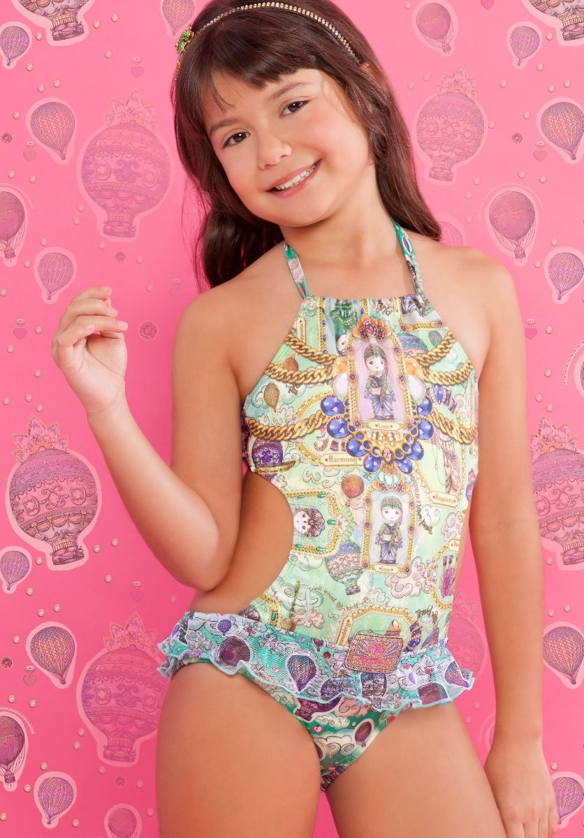 Dreams Monikini | The Cabana Shop | Kids Swimwear | Cute Kids ...
