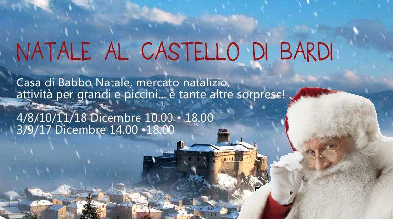 Per il ponte dell'Immacolata, vi aspettiamo a visitare la vera Casa di Babbo Natale al Castello di Bardi!