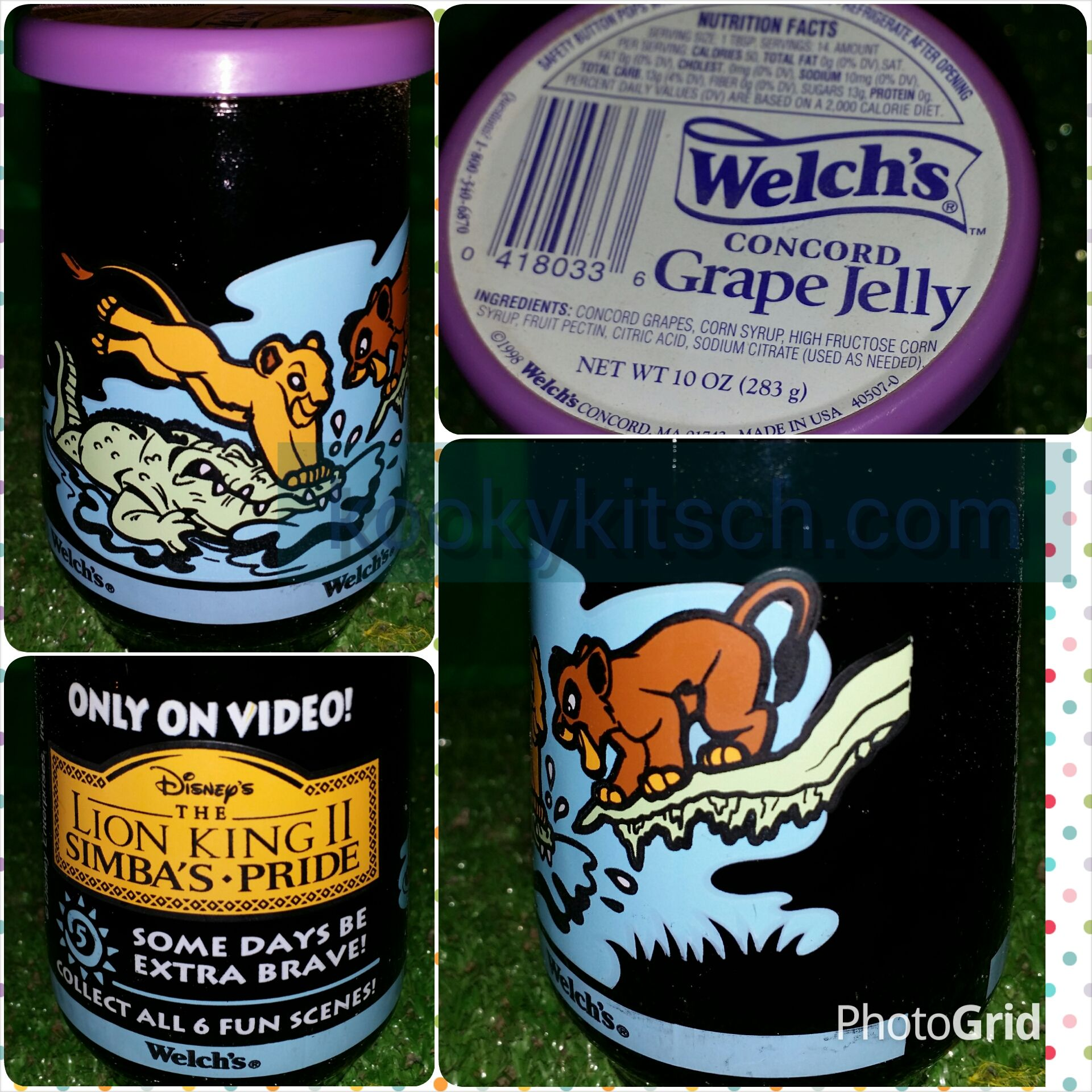 1994 Welch/'s Concord Grape Jelly Collector Series Warner Brothers Looney Tunes 3