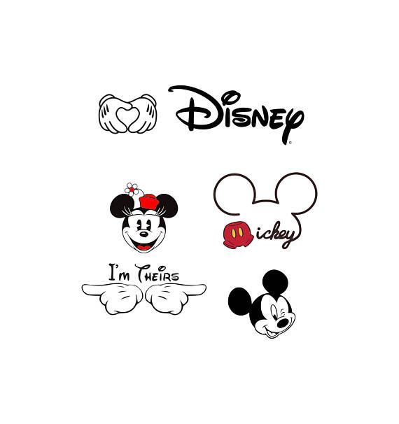 Mickey Mouse svg Disney svg Mickey mouse ears svg Mickey mouse head svg Files for Cricut Silhouette Mickey Mouse hands set