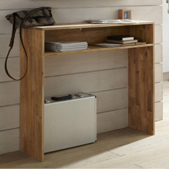 console ch ne massif faible profondeur edgar la redoute interieurs au dessus du radiateur. Black Bedroom Furniture Sets. Home Design Ideas