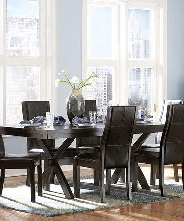 Look At This Zulilyfind Calgary Seven Piece Dining Set