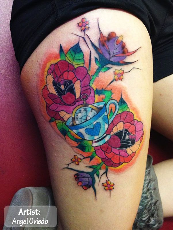 the best color tattoos in the world colorful tattoos the