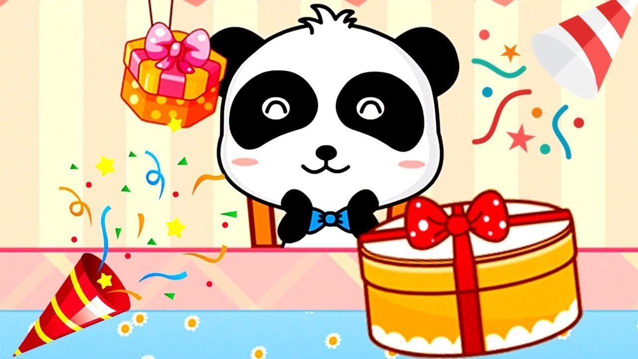Поздравительные открытки с пандами на день рождения