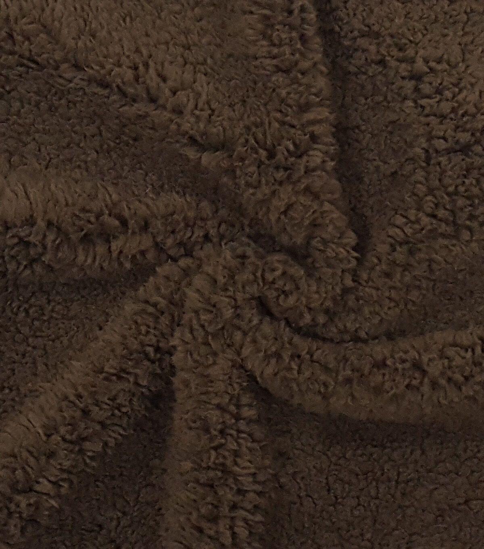 Fashion Faux Fur Fabric Brown Sherpa Faux Fur Fabric Joanns