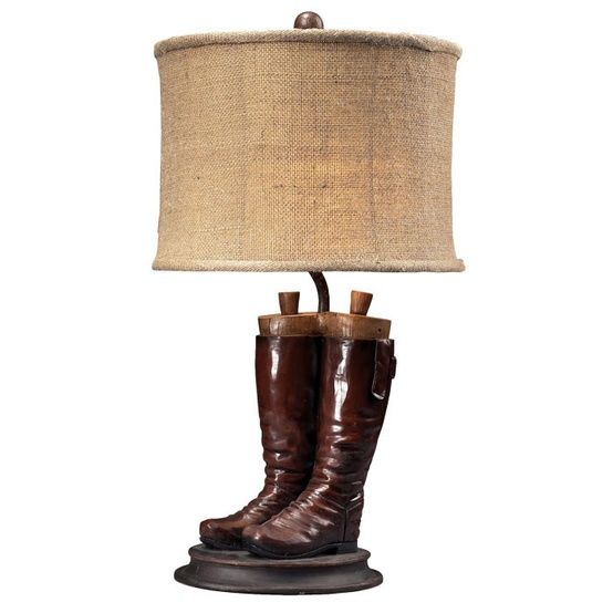 Riding Boots Table Lamp Table Lamp Lamp Led Table Lamp