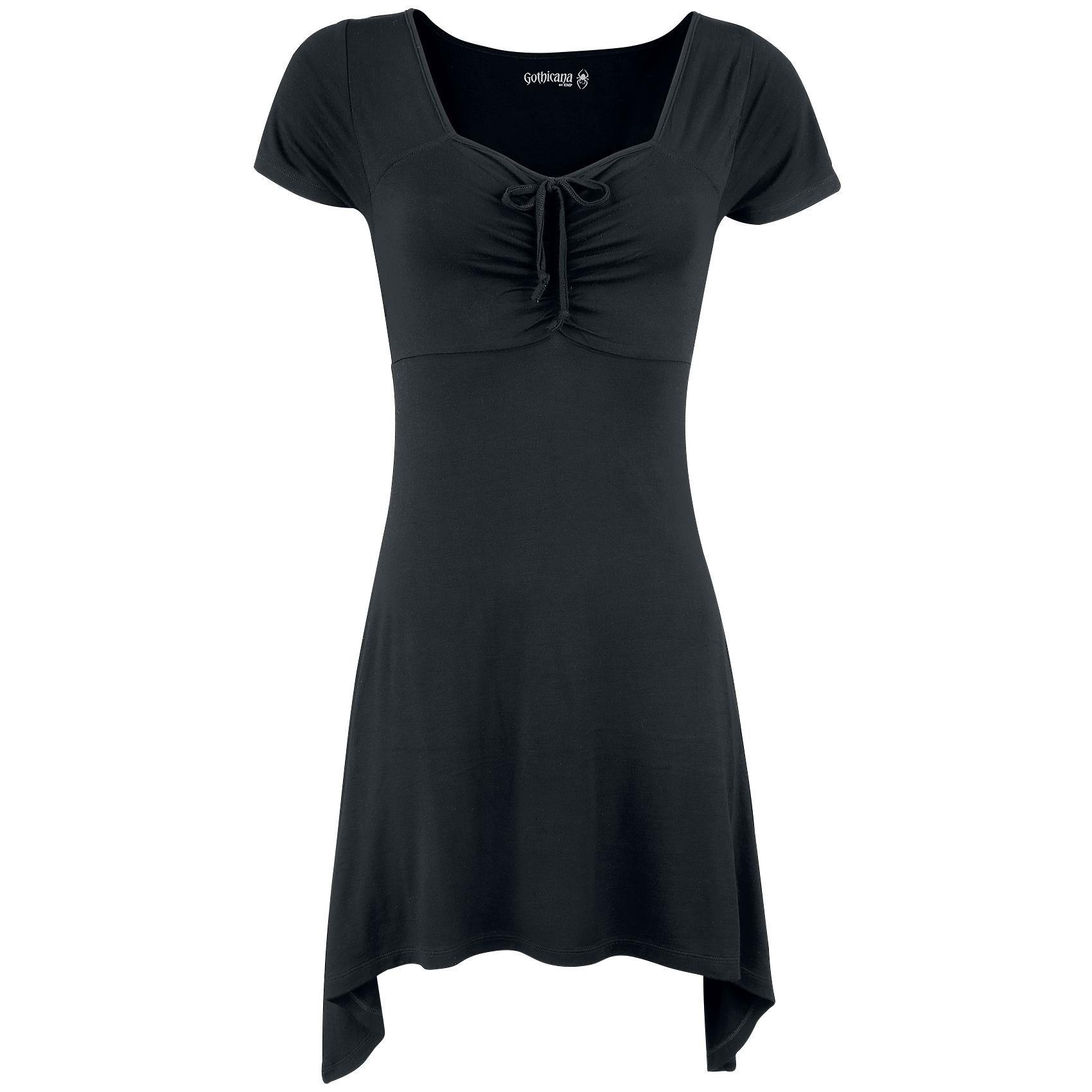 Ruffled Longshirt - T-skjorte etter Gothicana by EMP