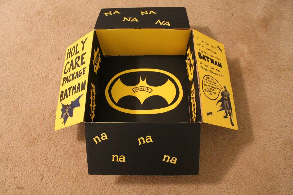 Batman Care Package | Regalos de batman