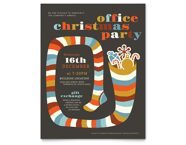15 cool holiday flyers 12