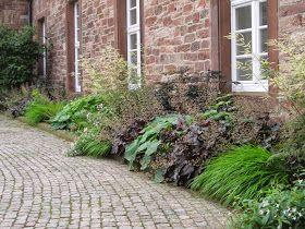 schmaler Pflanzstreifen, schmales Beet | Gardening | Schmaler garten ...