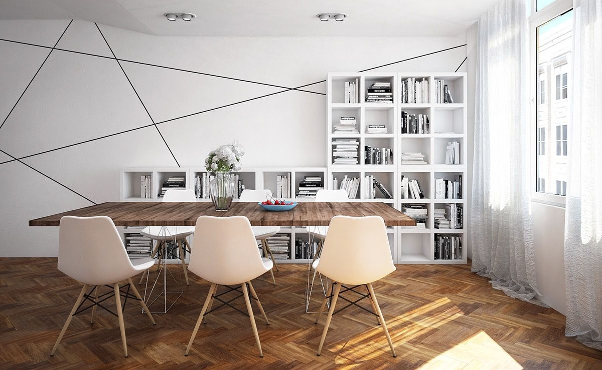 Modern Classic Dining Room Minimalist Contemporary Dining Room Designs Which Combining A Modern And .