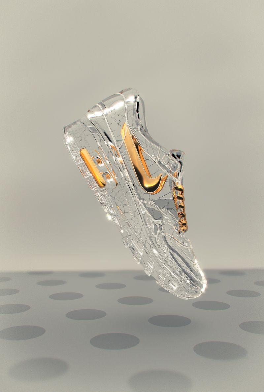 sports shoes 44909 cd963 Une paire de nike a la façon cendrillon ❤ en cristale super clamour