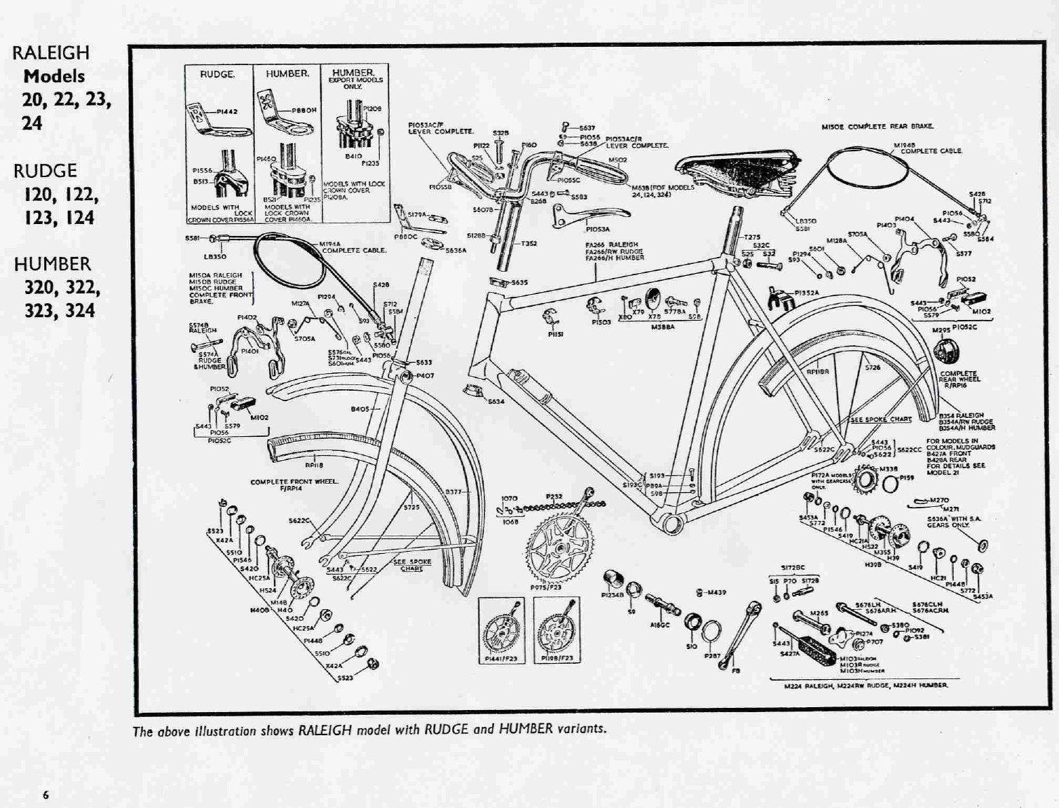 Parts List For 1967 Schwinn Racer 3 Speed In 2020 Bike Print Bicycle Bike Parts