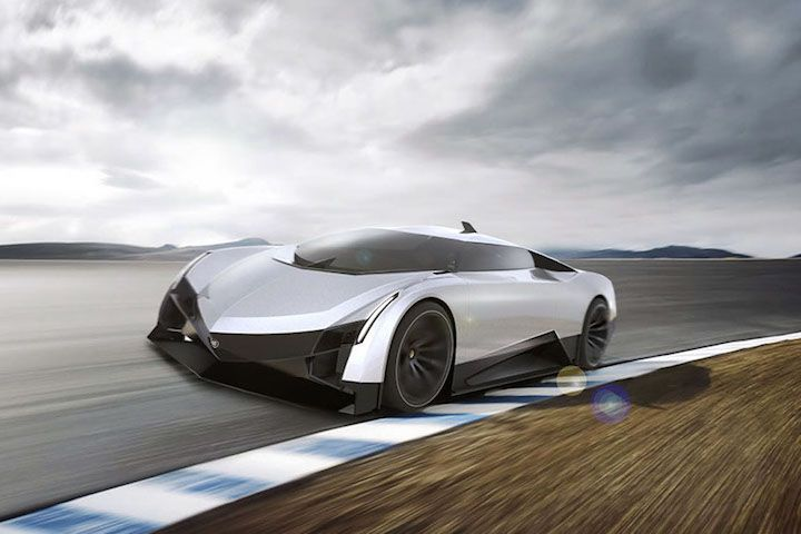 Cadillac Supercar 2 Concept Cars Pinterest Cadillac Cars And
