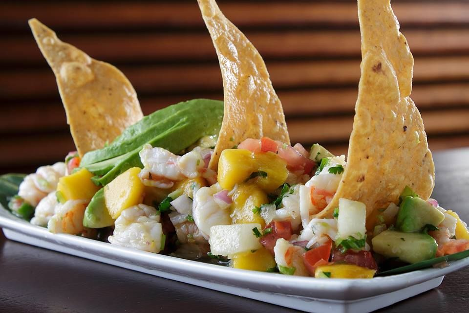 Looking for a refreshing lunch try the ceviche at taco