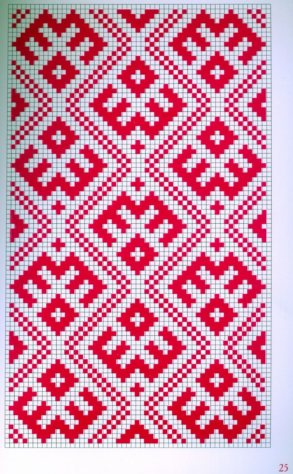 Russian Redwork for Embroidery | Вязание: орнаменты, жаккард ...