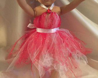 18 Doll outfit rhinestone shirt and tutu von audrinascloset