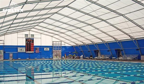 SHELTER Swimming Pool Cover - Sport Structures - Indoor Court Canopy -4 & SHELTER Swimming Pool Cover - Sport Structures - Indoor Court ...
