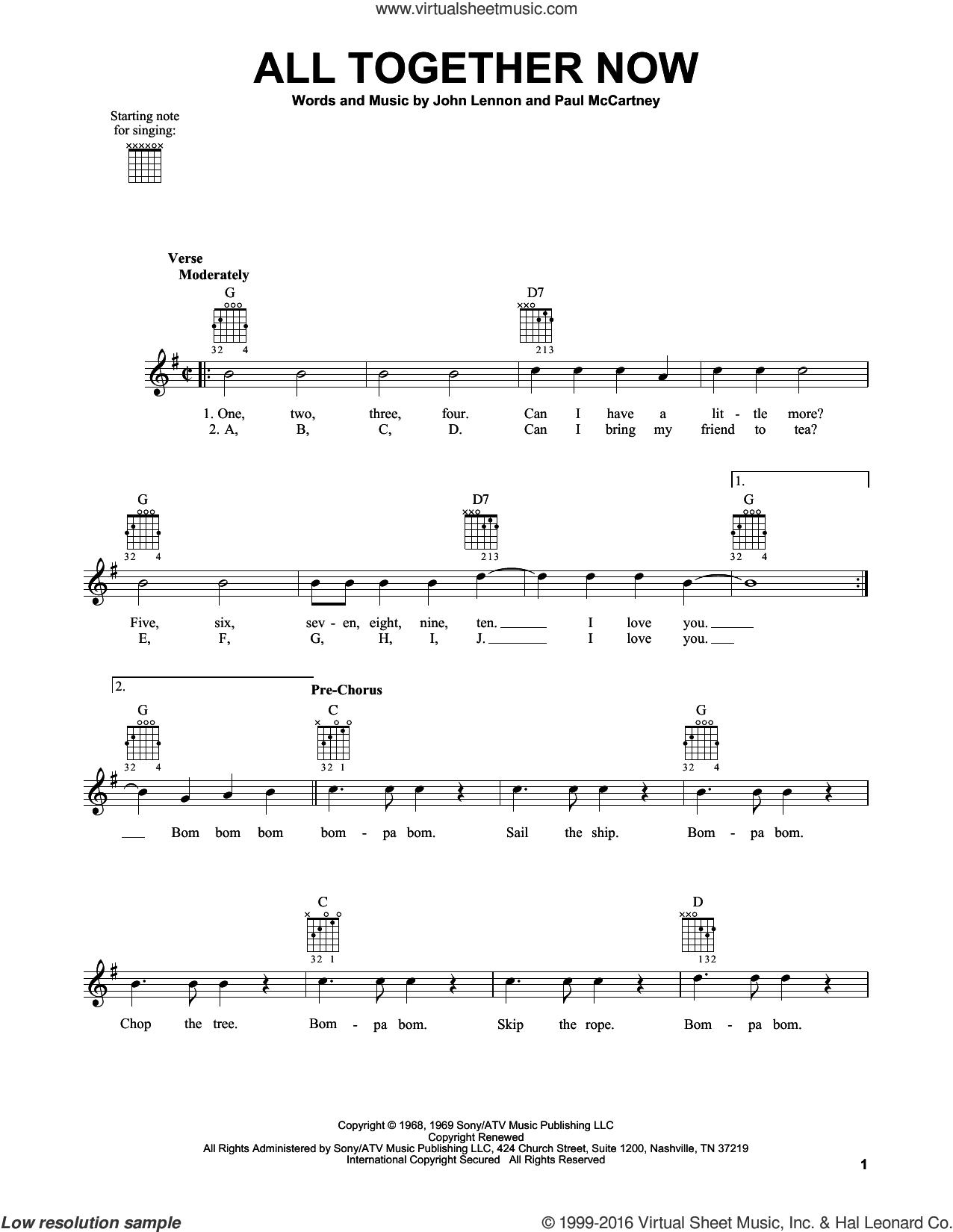 Pin By Virtual Sheet Music On The Beatles Sheet Music Pinterest
