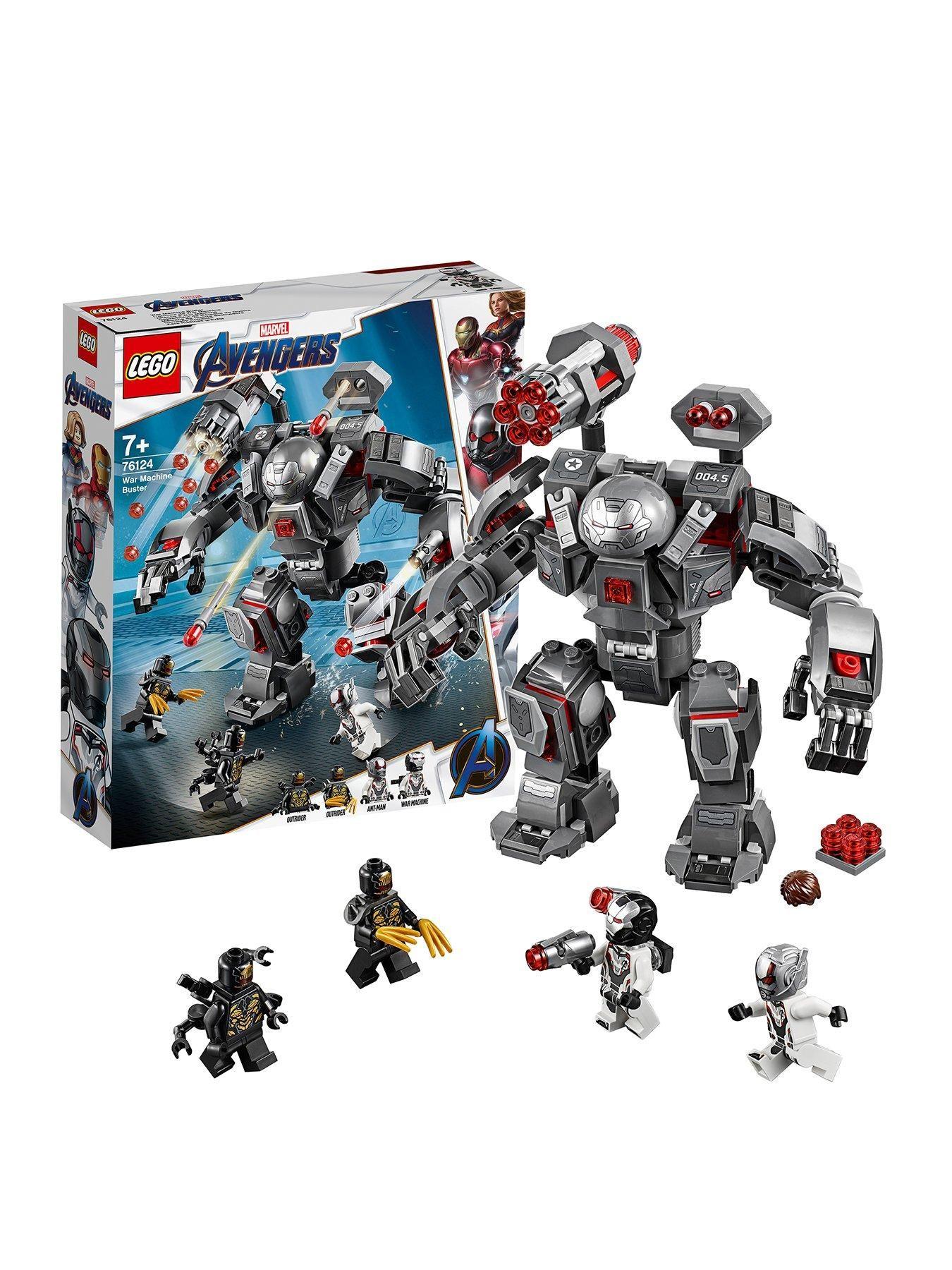 LEGO Avengers Endgame Lot of 2 Outrider Minifigures 76124 Mini Figs