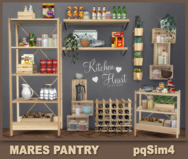 PQSims4: Mares Pantry