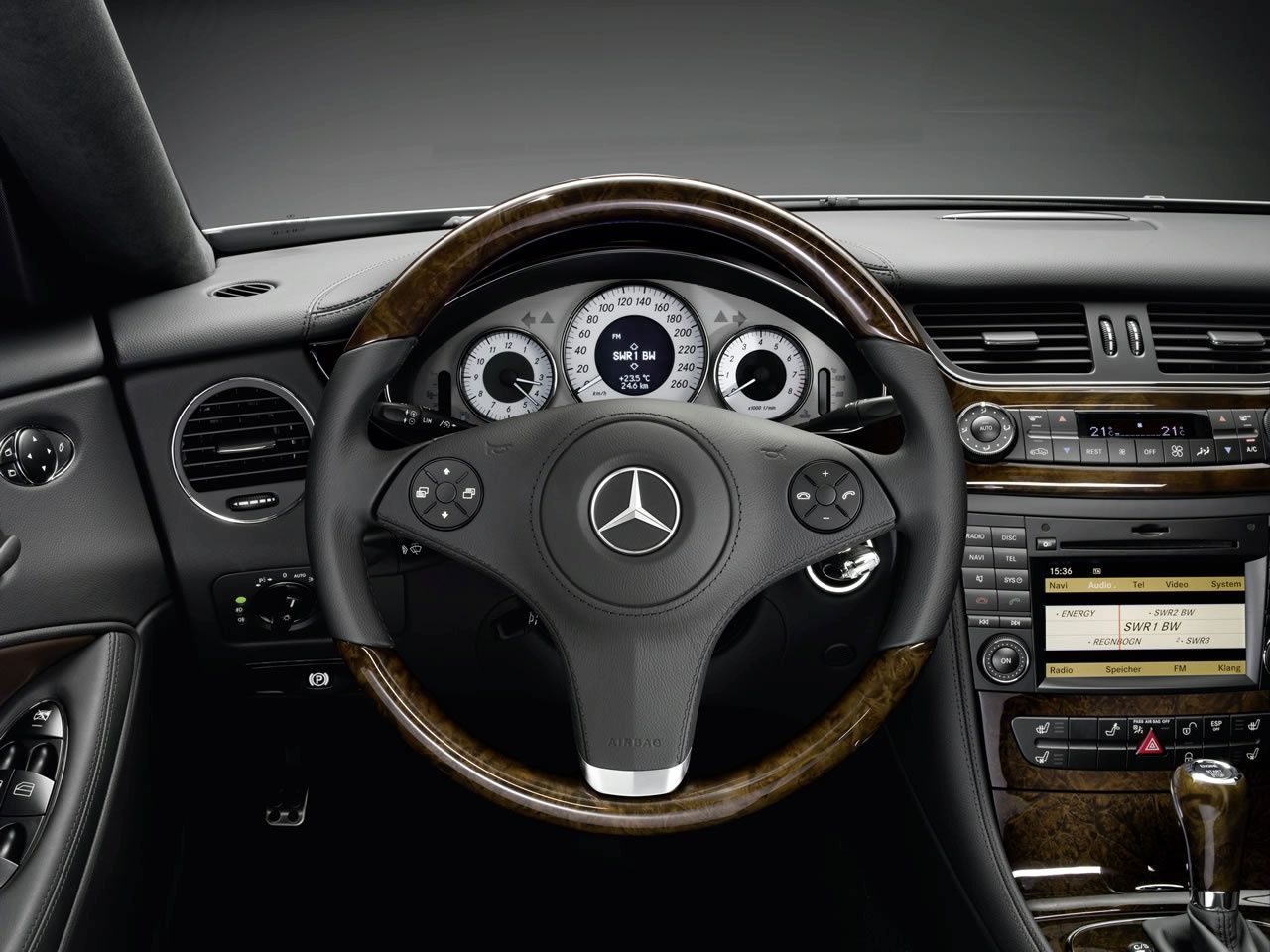 Mercedes Benz Cls W219 Wood Interior Luxury Car Interior