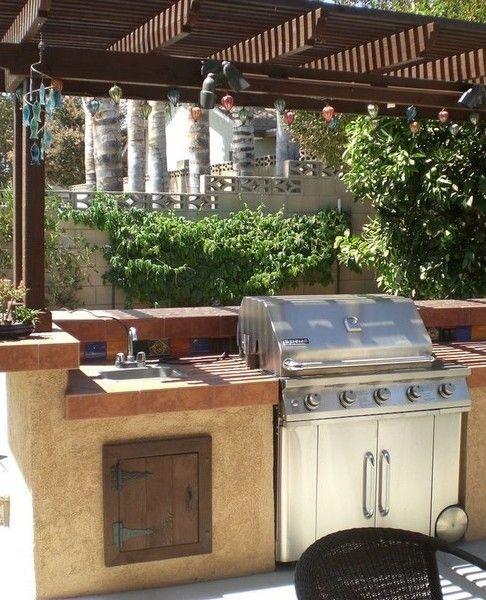 Aménager une cuisine d\u0027été Deck furniture, Decking and Future - Cuisine D Ete Exterieure