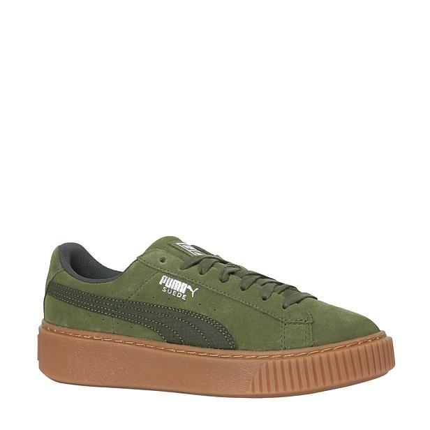 suède Platform Animal sneakers | Sneaker, Suede, Schoenen