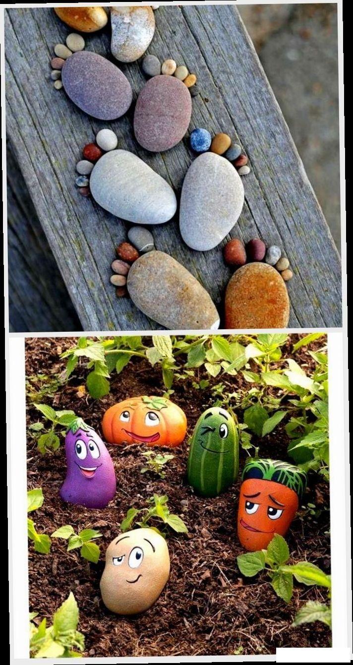 Photo of Gartendekorationen – Steinfüße sind tolle Sommerdeko,  #Gartendekorationen #sind #Sommerdeko …