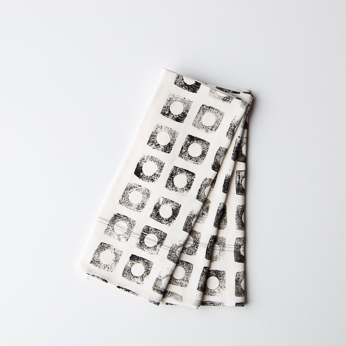Glass Tea Towel   Small Table Runner   Hemp U0026 Linen