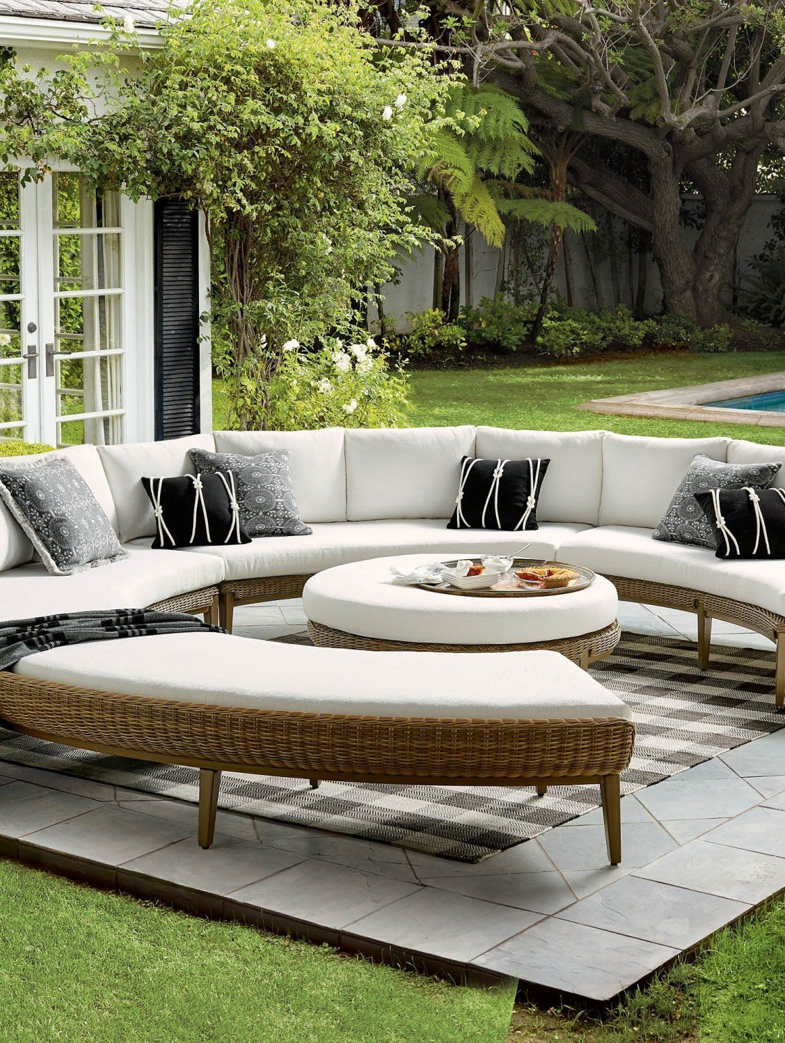 Sotto Modular Seating  Frontgate  Target patio furniture, Garden
