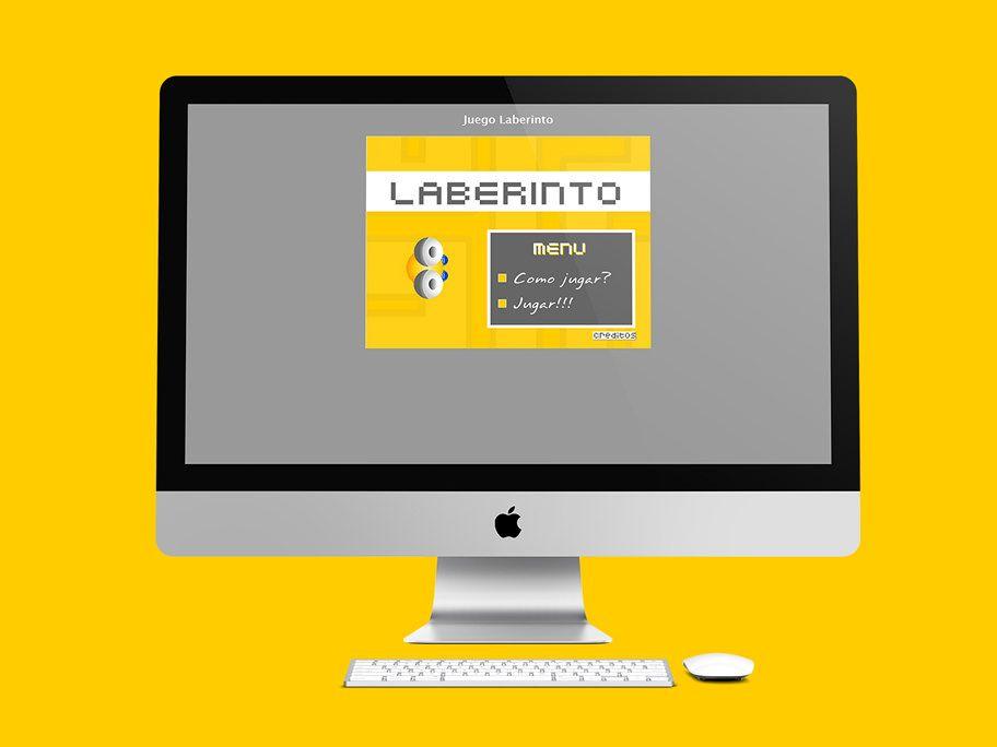 Juego Laberinto es un juego de niños. Se diseño en Bogotá, Colombia. Pueden jugar solamente en el computador. Se hizo el diseño del juego en Flash y AS2.  Año 2006.